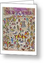 New Yorker May 21st, 1984 Greeting Card