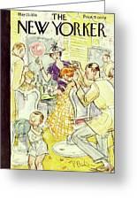 New Yorker May 23 1936 Greeting Card