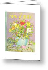 New Yorker May 25th, 1981 Greeting Card by Jenni Oliver