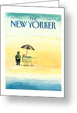New Yorker May 25th, 1987 Greeting Card