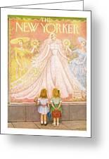 New Yorker May 29th, 1954 Greeting Card
