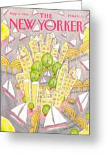 New Yorker May 2nd, 1988 Greeting Card