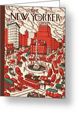 New Yorker May 30th, 1925 Greeting Card