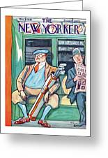 New Yorker May 31st, 1930 Greeting Card
