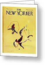 New Yorker May 31st 1976 Greeting Card