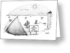 New Yorker May 3rd, 1993 Greeting Card