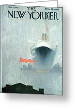 New Yorker May 4th, 1963 Greeting Card