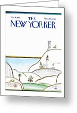 New Yorker May 4th, 1968 Greeting Card