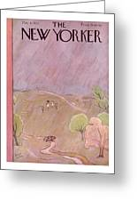 New Yorker May 6th, 1933 Greeting Card