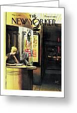 New Yorker May 6th, 1961 Greeting Card