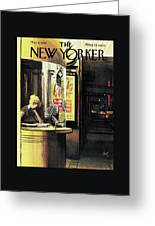 New Yorker May 6th, 1961 Greeting Card by Arthur Getz