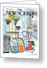 New Yorker May 7th, 1966 Greeting Card