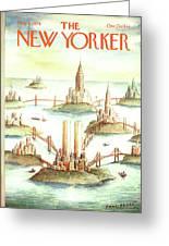 New Yorker May 8th, 1978 Greeting Card