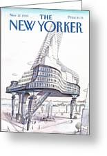 New Yorker November 12th, 1990 Greeting Card