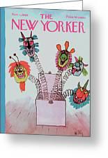 New Yorker November 1st, 1969 Greeting Card
