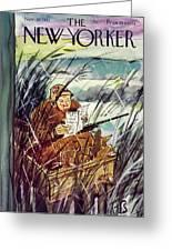 New Yorker November 20 1937 Greeting Card
