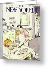 New Yorker November 27 1937 Greeting Card
