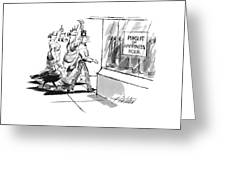 New Yorker November 28th, 1994 Greeting Card