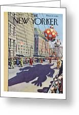 New Yorker November 29th, 1952 Greeting Card