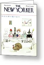 New Yorker November 29th, 1976 Greeting Card