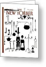 New Yorker November 29th, 1982 Greeting Card