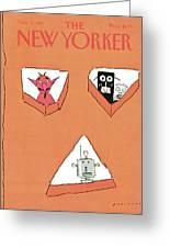 New Yorker November 2nd, 1981 Greeting Card