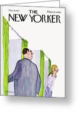New Yorker November 4th, 1972 Greeting Card
