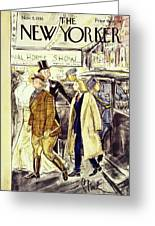New Yorker November 5 1938 Greeting Card