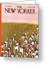 New Yorker November 6th, 1965 Greeting Card
