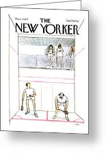 New Yorker November 7th, 1977 Greeting Card