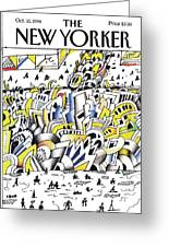 New Yorker October 10th, 1994 Greeting Card