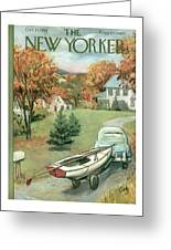 New Yorker October 11th, 1958 Greeting Card