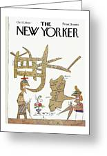 New Yorker October 12th, 1963 Greeting Card
