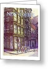 New Yorker October 13th, 1980 Greeting Card