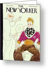 New Yorker October 15 1938 Greeting Card