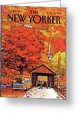 New Yorker October 19th, 1981 Greeting Card