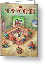 New Yorker October 19th, 1987 Greeting Card