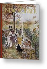 New Yorker October 20th, 1962 Greeting Card