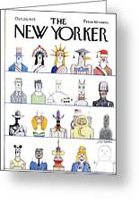 New Yorker October 20th, 1975 Greeting Card