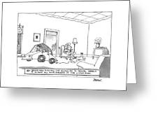 New Yorker October 20th, 1997 Greeting Card