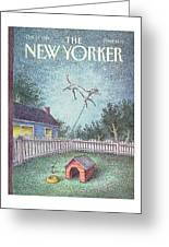 New Yorker October 21st, 1991 Greeting Card