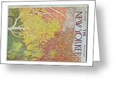 New Yorker October 22nd, 1973 Greeting Card