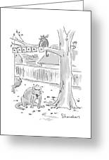 New Yorker October 26th, 1998 Greeting Card
