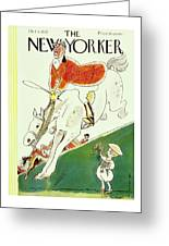 New Yorker October 8 1932 Greeting Card