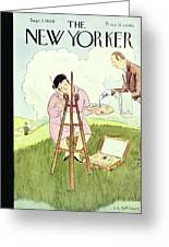 New Yorker September 1 1928 Greeting Card