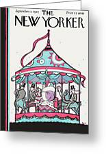 New Yorker September 12th, 1925 Greeting Card