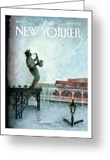 New Yorker September 12th, 2005 Greeting Card