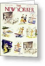 New Yorker September 14 1940 Greeting Card