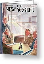 New Yorker September 15th, 1945 Greeting Card
