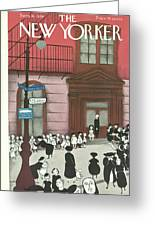 New Yorker September 16th, 1939 Greeting Card